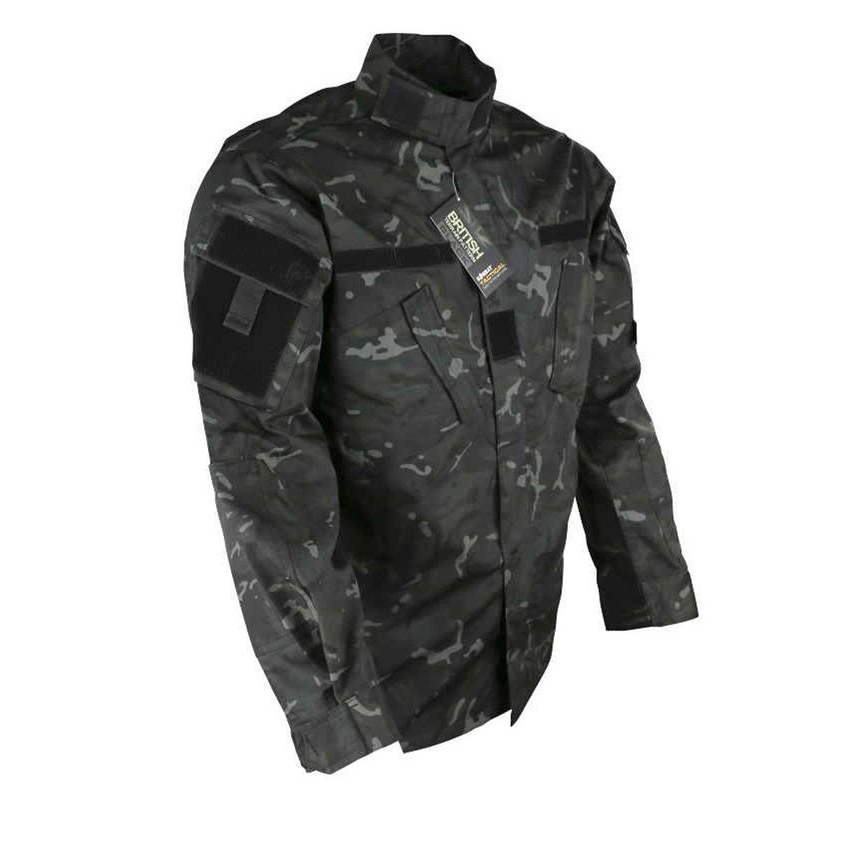 Kombat Camuflaje Camiseta BTP Noche Airsoft Militar Estilo de ...