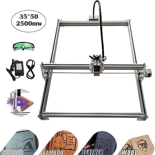 Kits de grabador láser de bricolaje CNC, MYSWEETY 35x50cm ...