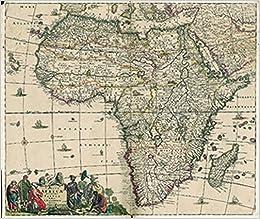 Karte Afrika.Historische Karte Afrika 1698 Plano Amazon De Theodorus