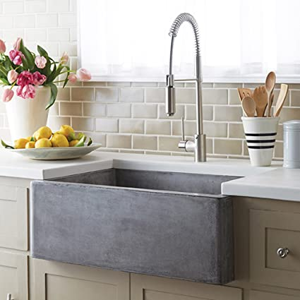 Attirant Rectangular Bar Sink In Ash