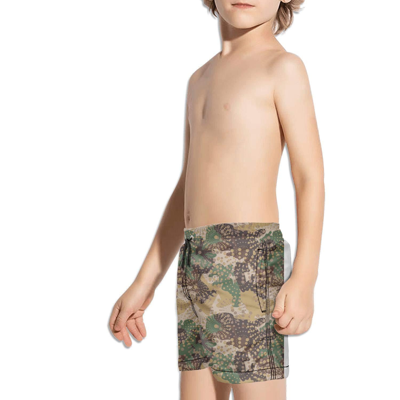 uejnnbc Desert Army Digital camo Microfiber Slim Fit Beach Swimming Trunks Shorts