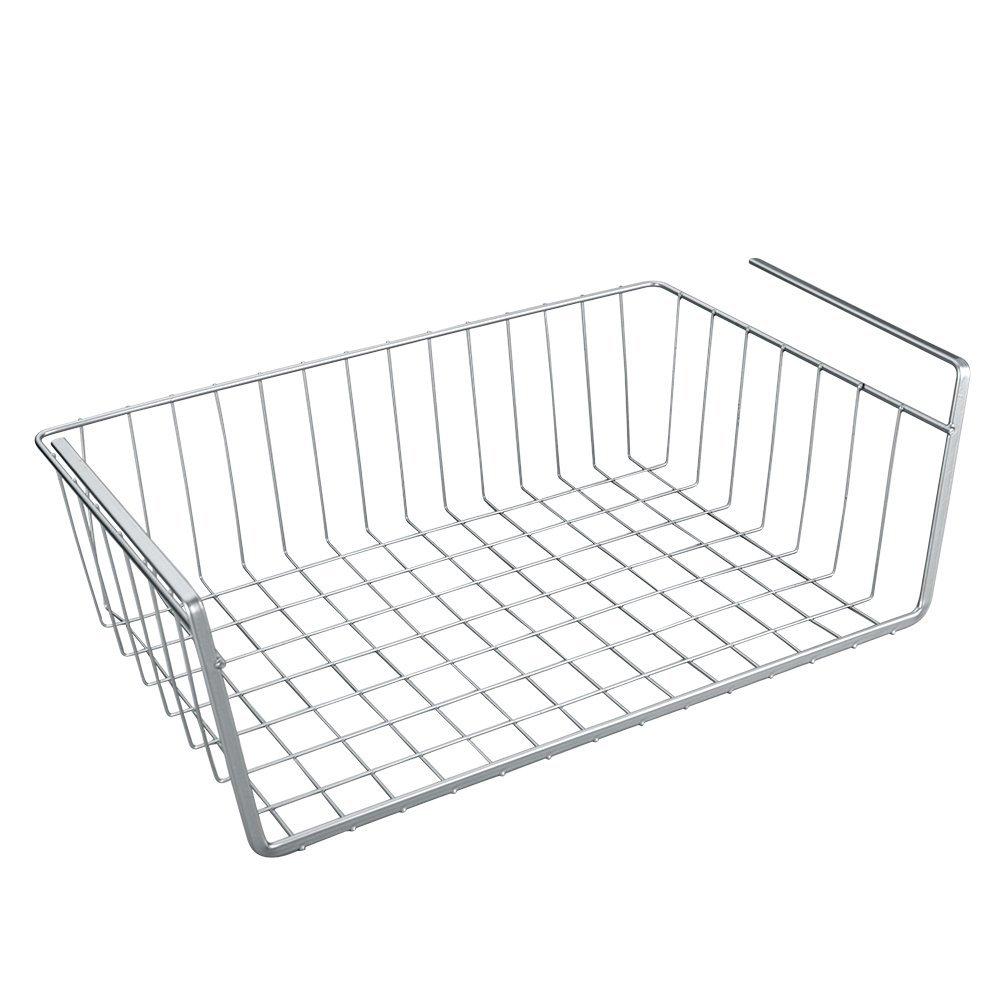Metaltex 364840094 Corbeille /à suspendre 40 cm Argent/é