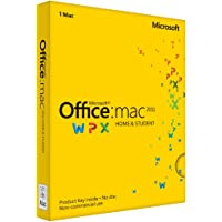 Microsoft Office for Mac Home & Student 2011 - Suites de programas (ENG, Intel)