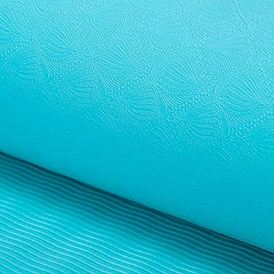 Yoga Mat Health Fitness Green Odorless 1/4-inch Thick 24 inches wide 71 inches long TPE Exercise mat With Carry Strap,Yoga and Pilates