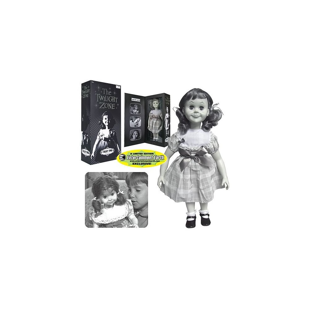 Twilight Zone Replik 1 1 Talky Tina Puppe mit Sound Exclusive 45 cm