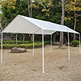 Honesty Carport Canopy Tent Frame Shelter Car Boat Truck Garage Storage Shade Metal Big