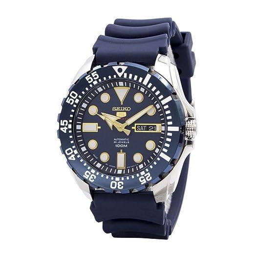 Seiko De los hombres Watch 5 SPORTS JAPAN Reloj SRP605J2: Amazon.es: Relojes