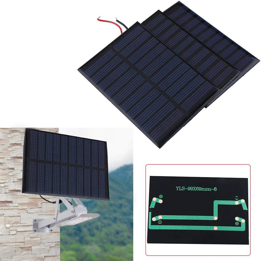 Solar Battery Charger Solar Battery Charger 5V 0.8W 160mA Charging Cell Phones, High Conversion Rate, High Efficiency Output, for Home Lighting by Elec tech (Image #6)
