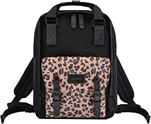 "Himawari School Waterproof Backpack 14.9"" College Vintage Travel Bag for Women,14 inch Laptop for Student (HIM-62#)"