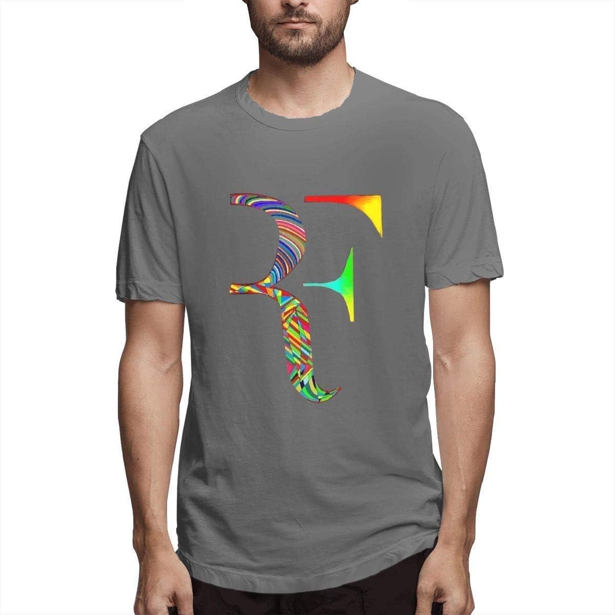 Roger Federer Camiseta Fresca de Manga Corta de Verano para Hombre ...
