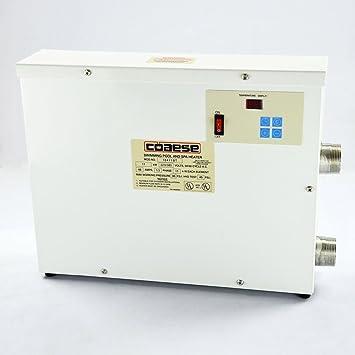Schwimmbad Swimmingpool Thermostat 220V Elektrische Heizung Poolheizung Pool  Heater Wärmetauscher (11KW Thermostat)