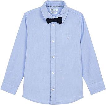 Mayoral Camisa con pajarita para niño.: Amazon.es: Ropa y ...