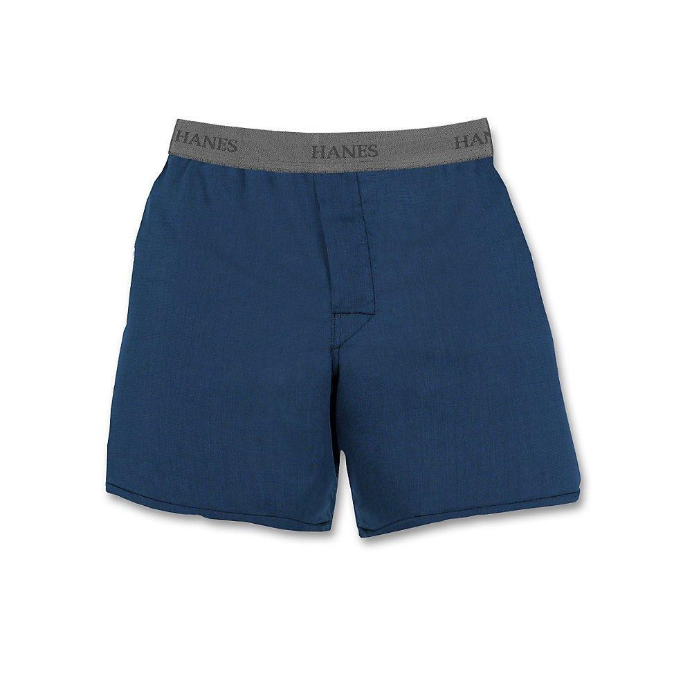 Hanes Big Boys'  Yarn Dyed Boxer (Pack of 3) Hanes underwear - Hanesbrands B835C3