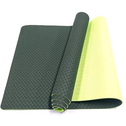 Amazon.com: YQSMYSW Gym Family Yoga Mat Eco-Friendly Fitness ...