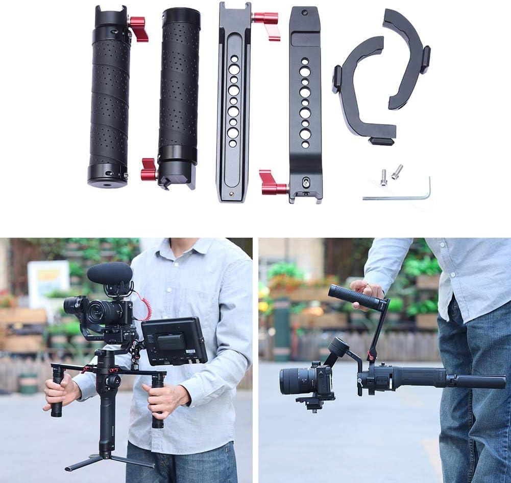 Pena Dual Handle Grip Handheld DSLR Gimbal Stabilizer Kit,Light Camera Stabilizer for DJI Ronin S//SC Support Extension