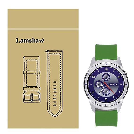 Amazon.com: ZTE Quartz Smartwatch Band, Lamshaw Classic ...