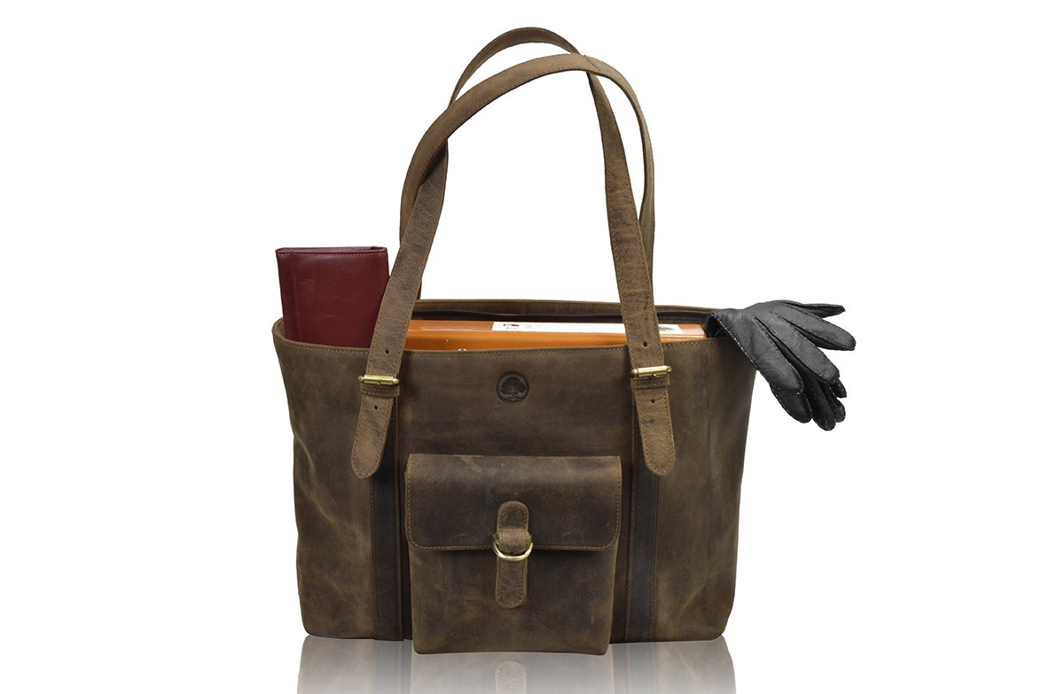 Tony`s Bags Women's bags 100% Natural Rustic Leather