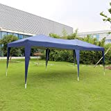 Kinbor 10'x20' Canopy Wedding Party Tent Heavy Duty Outdoor Gazebo White/Blue (Blue) Review