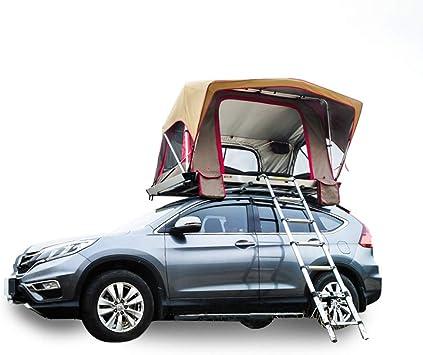 Tienda al Aire Libre,Tienda de Techo automática para automóvil SUV,Tour de Auto-conducción 2 Personas abren rápidamente la Tienda de campaña de cáscara Dura - Equipo de Coche,A: Amazon.es: Deportes y aire libre