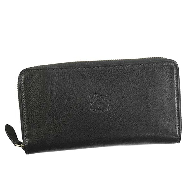 【IL BISONTE イルビゾンテ】財布 長財布 C0857 ブラック … [並行輸入品] B07DBZ2844