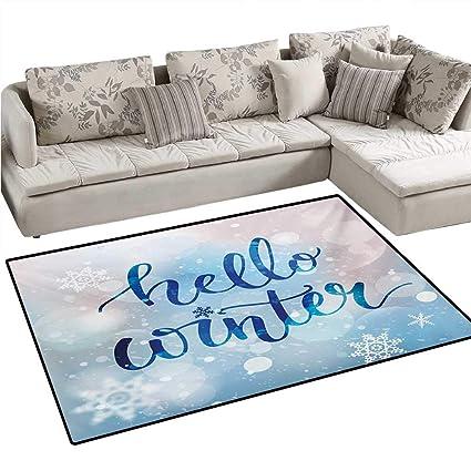 Amazon.com: Winter Door Mats for Inside Hello Winter ...