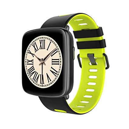 YSCYLY Fitness Tracker Relojes Inteligentes Pulsera Inteligente Monitor de Ritmo cardíaco GPS IP68 A Prueba de