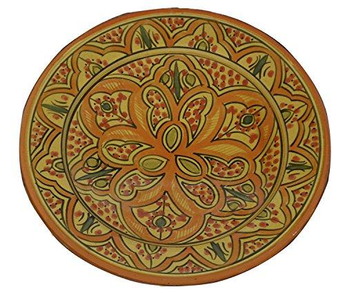 Ceramic Plates Handmade Plate Large 12-inch