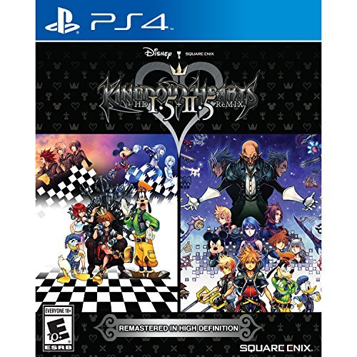 Kingdom Hearts HD 1.5 + 2.5 ReMIX - PlayStation (Kingdom Hearts Video Game)