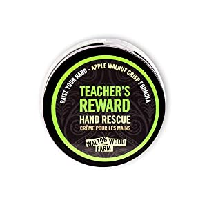 Walton Wood Farm Hand Rescue (Teacher's Reward) Apple Walnut Crisp Scent Vegan-Friendly and Paraben-Free 4 oz