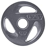 CAP Barbell 2″ Olympic Grip Plate, 45 lb Review