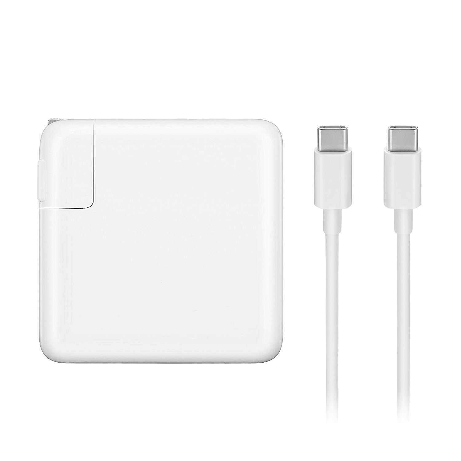 87W USB-C Power Adapter Charger USB-C to USB-C Charge Cable