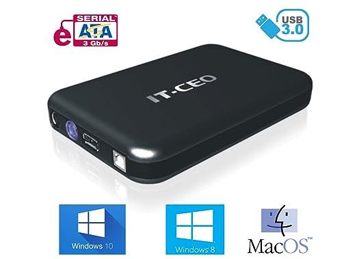 "4 opinioni per IT735U3 e-SATA / USB 3.0 Caja externa de unidad de disco duro de 3,5 "" SATA con"
