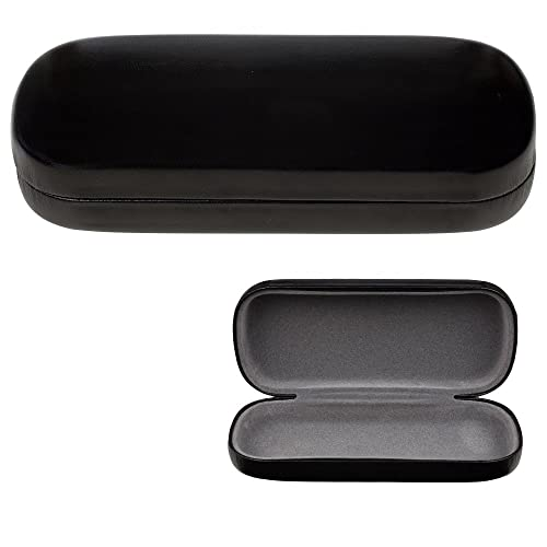 Glasses Case, Hard Shell Protects & Stores Sunglasses, Reading Eyeglasses and Most Eyewear, ...