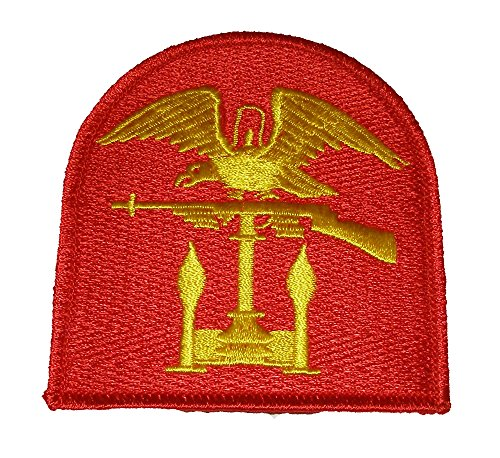 NAVY AMPHIBIOUS SHOULDER PATCH - Red & Gold - Veteran Owned Business.