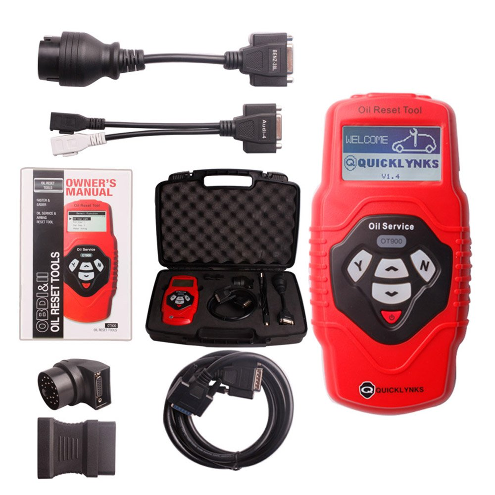 ICARSCANNER Professional Oil Service and Airbag Reset Tool OT900 Multilingual and Updatable OBD2 Code Scanner