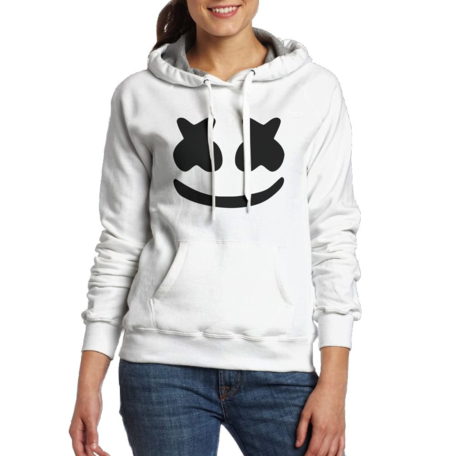 Andy And Reid Cool Marshmello Face Women Hoodies