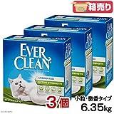 エバークリーン 猫砂 小粒微香 6.35kg x3個 【並行輸入品】