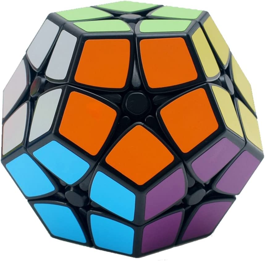 3x3 I-xun/® Perfect Magic Cube Smooth Dodecahedron Cube Megaminx Cube Black