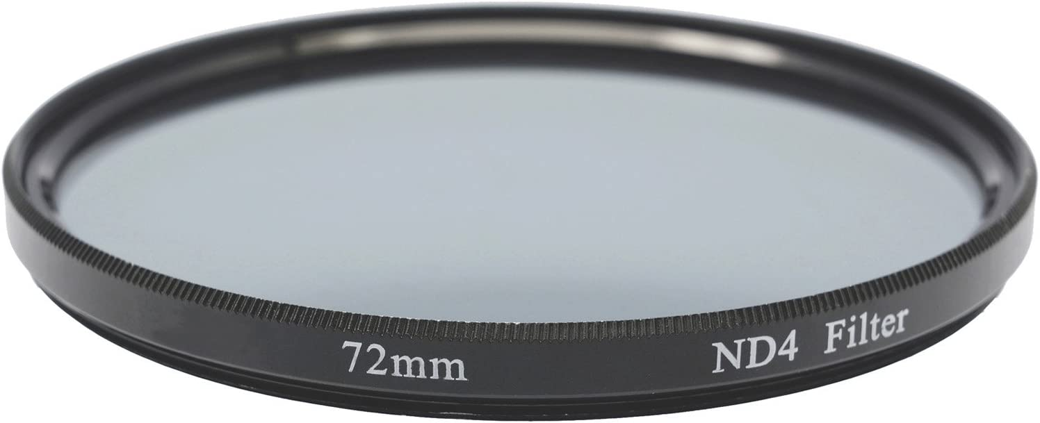 Gadget Career 72mm Neutral Density ND4 Filter for Nikon AF-P DX Nikkor 10-20mm F4.5-5.6G VR