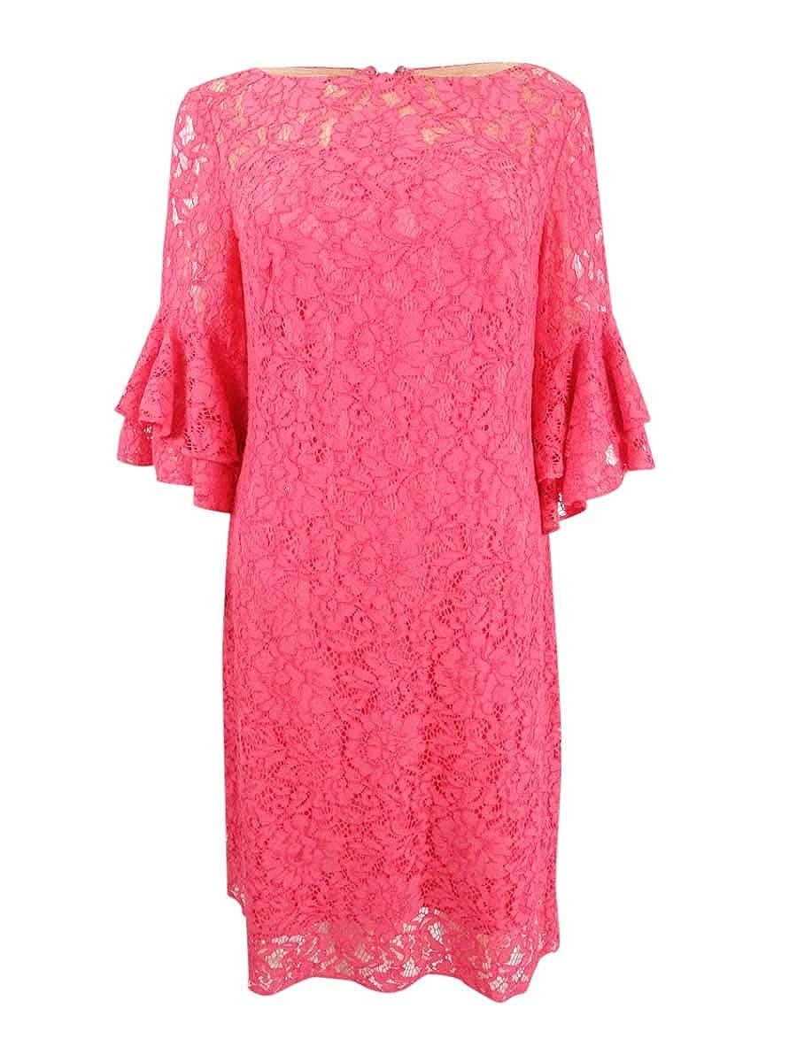 ef338e11 Lauren by Ralph Lauren Womens Marcelle Monte Carlo Lace Dress at ...