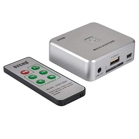 Losenlli Caja de grabación de Audio USB Unidad Libre Disco ...