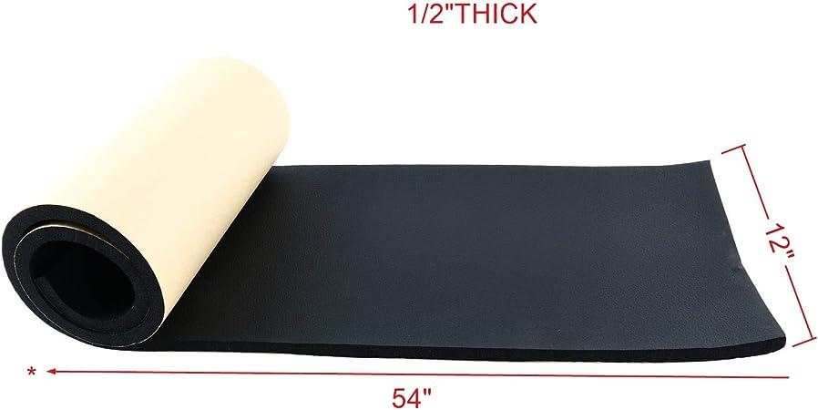 """Neoprene Rubber Sheet  1//2/"""" Thick x 12/"""" wide x 24/"""" long FREE SHIPPING"""