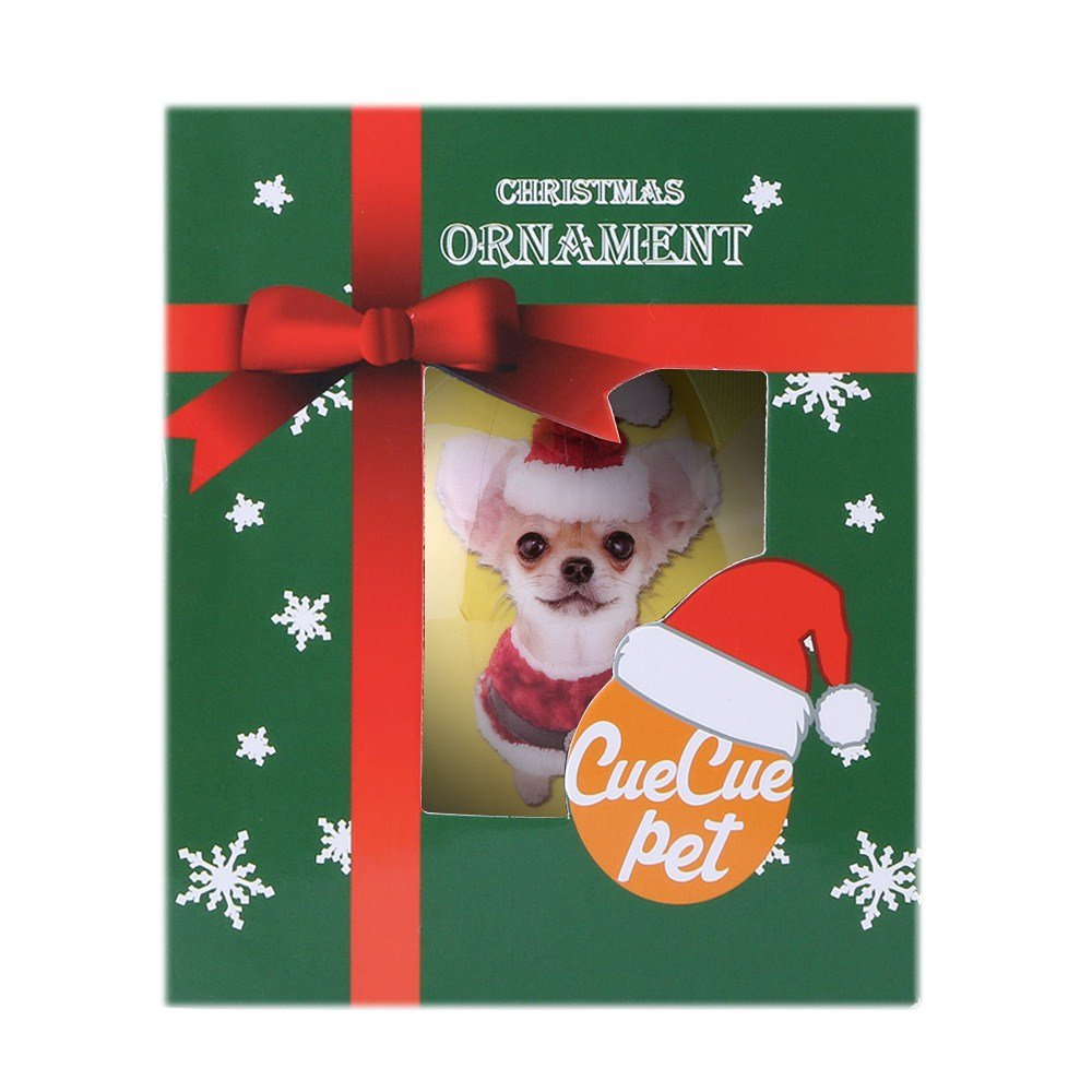 CueCue Pet ORNDOG110 Animal Collection Christmas Ball Ornament Décor by CueCue Pet (Image #5)