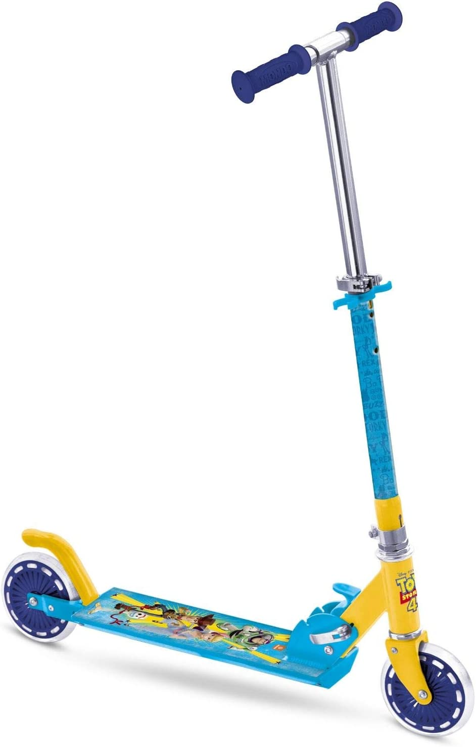 Amazon.com: Mondo Toy Story - Patinete de aluminio con 2 ...