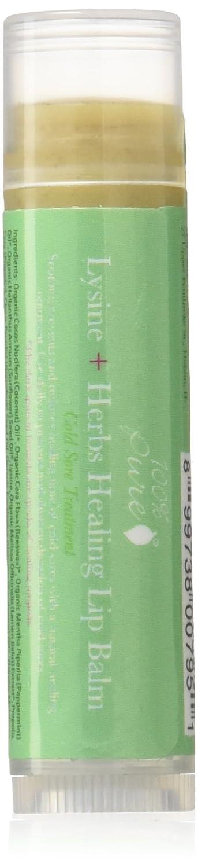 100% Pure Lysine + Herbs Lip Balm, 0.15 Oz 1LBLHH
