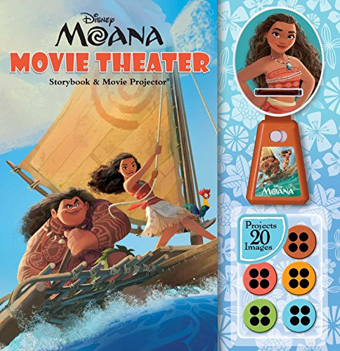 Price comparison product image Disney Moana: Movie Theater Storybook & Movie Projector
