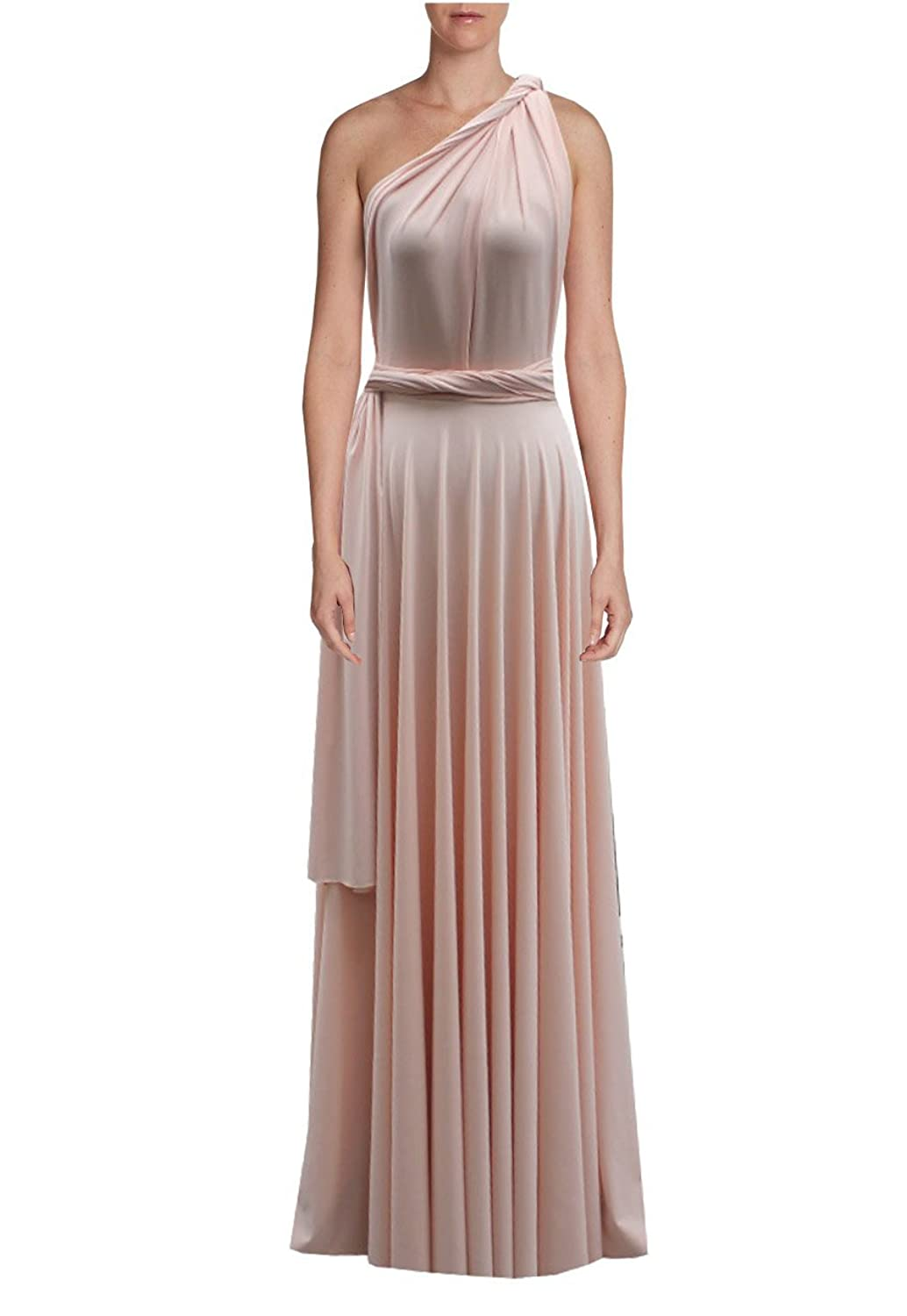 4580b24734b ... Infinity dress Long bridesmaid gown Convertible wedding multiway skirt  Plus size wrap clothing. Wholesale Price 79.99 -  129.99. Perfect for  bridesmaids ...