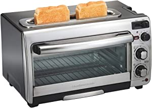 Hamilton Beach 2-in-1 Combination Oven & Toaster - 31156 - (Renewed)