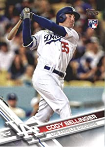2017 Update Series #US50 Cody Bellinger Los Angeles Dodgers Baseball Rookie Card