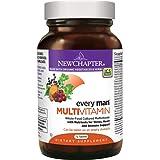 New Chapter Men's Multivitamin, Every Man, Fermented with Probiotics + Selenium + B Vitamins + Vitamin D3 + Organic Non-GMO Ingredients - 72 ct